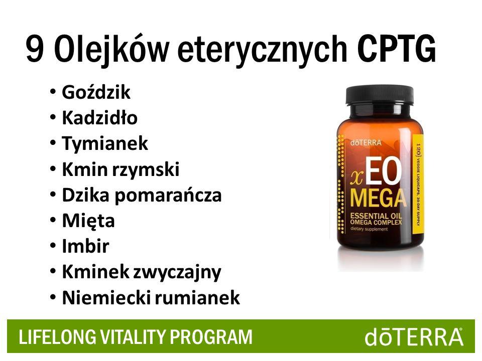 9 Olejków eterycznych CPTG