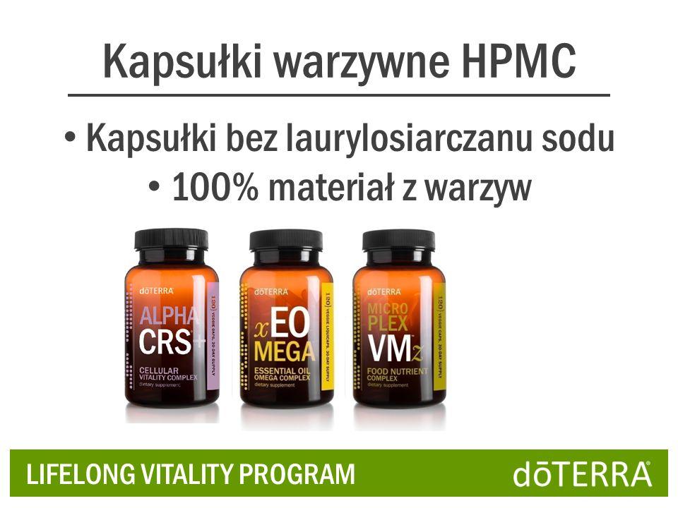 Kapsułki warzywne HPMC