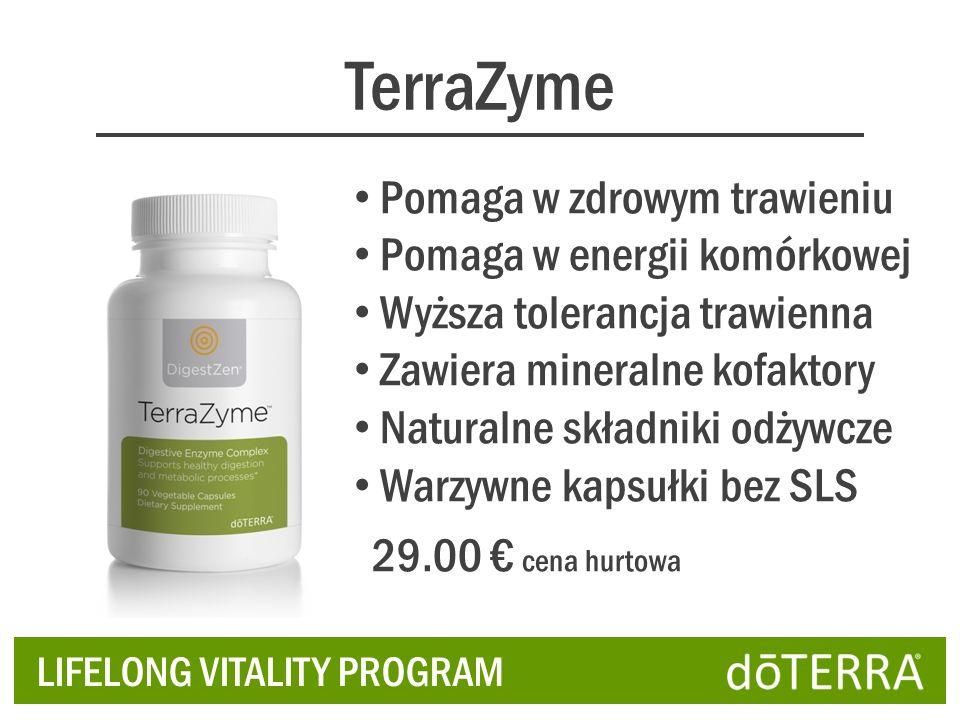 TerraZyme Pomaga w zdrowym trawieniu Pomaga w energii komórkowej