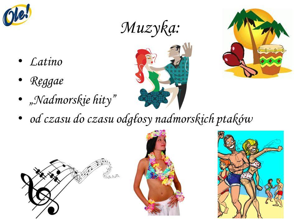 "Muzyka: Latino Reggae ""Nadmorskie hity"