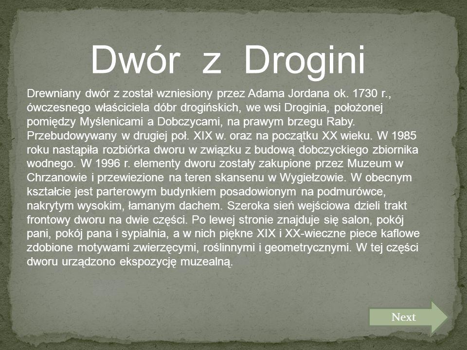 Dwór z Drogini