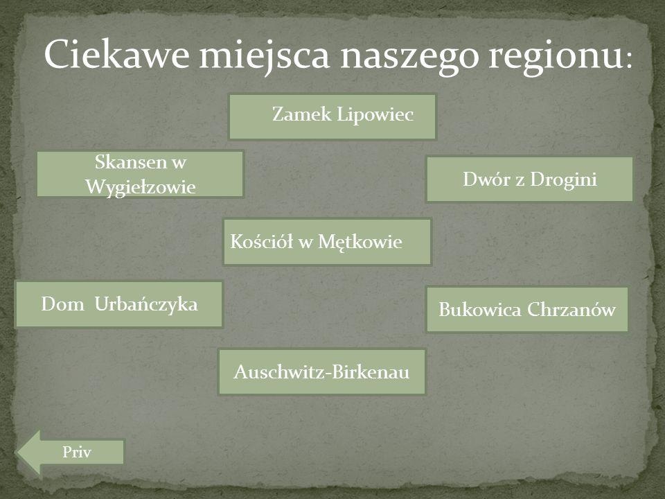 Ciekawe miejsca naszego regionu: