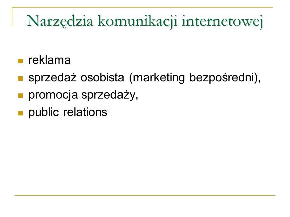 Narzędzia komunikacji internetowej