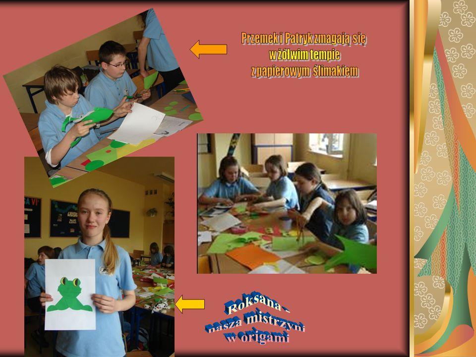 Roksana - nasza mistrzyni w origami