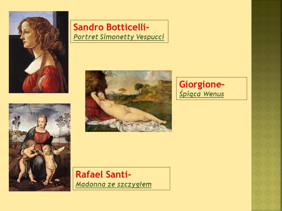 Sandro Botticelli- Portret Simonetty Vespucci