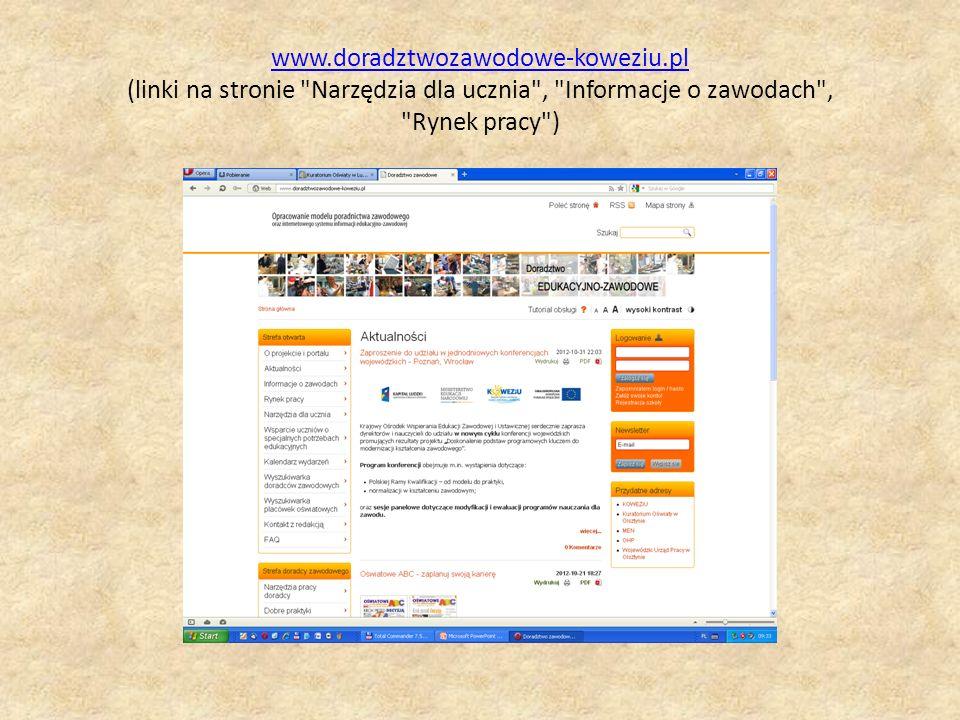 www. doradztwozawodowe-koweziu