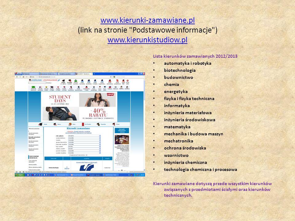 www. kierunki-zamawiane