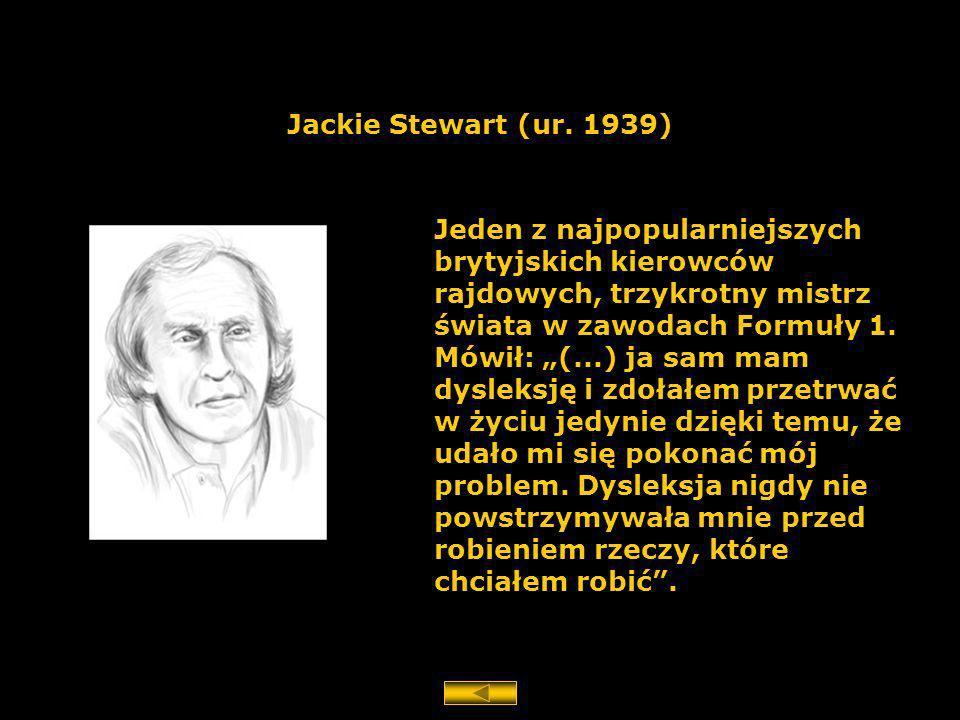 Jackie Stewart (ur. 1939)