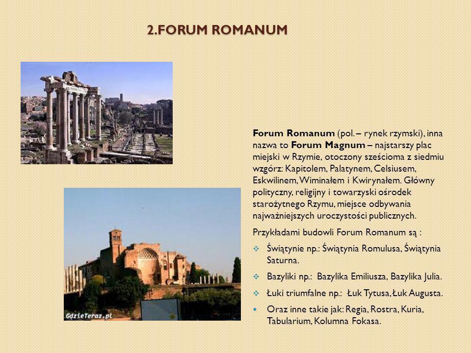 2.FORUM ROMANUM