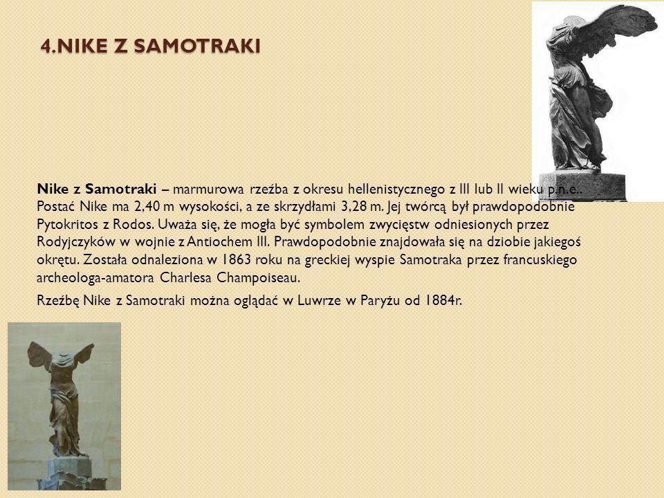 4.NIKE Z SAMOTRAKI