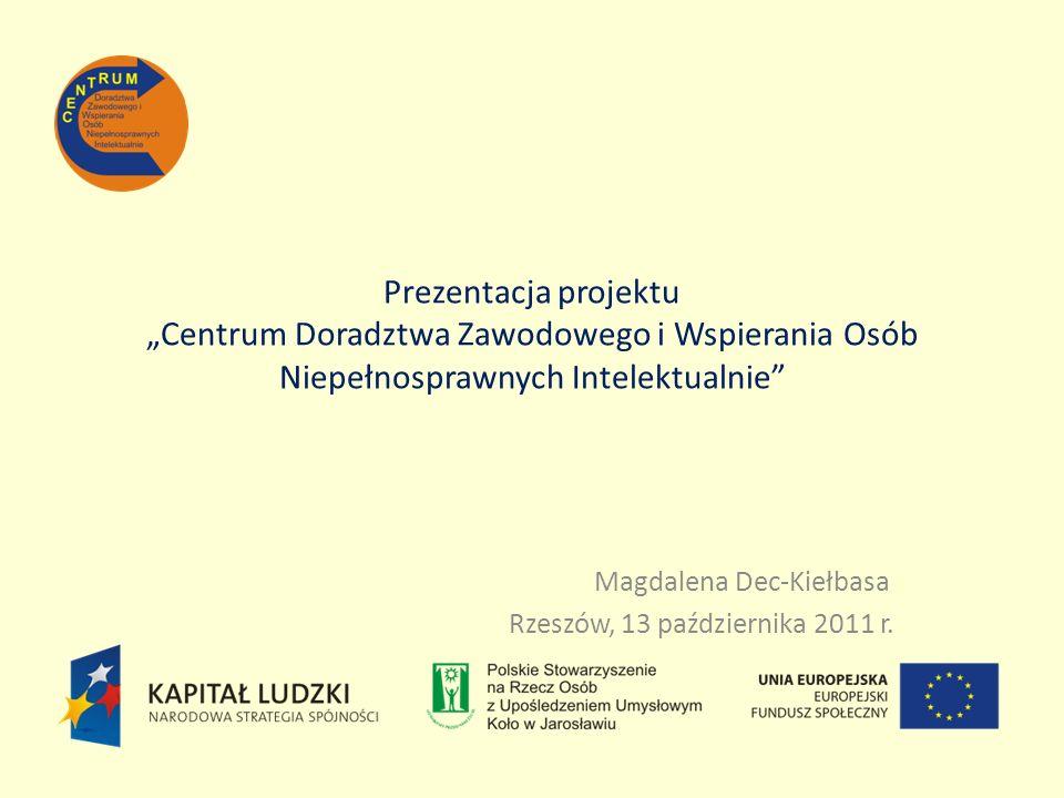 Magdalena Dec-Kiełbasa Rzeszów, 13 października 2011 r.