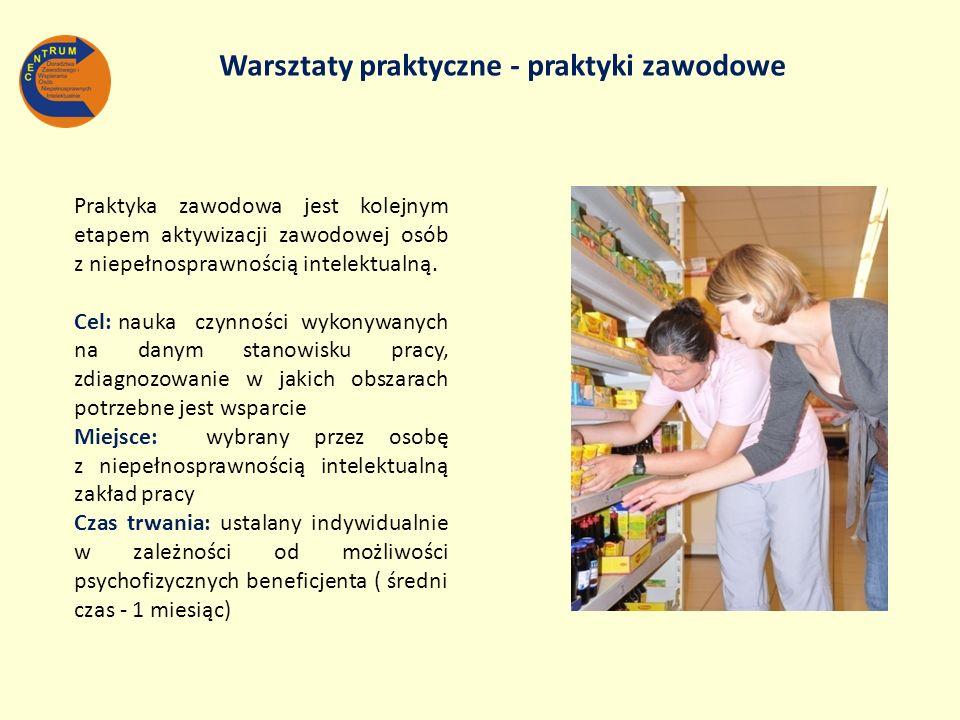 Warsztaty praktyczne - praktyki zawodowe