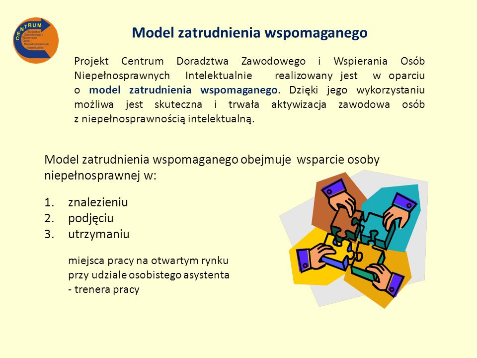 Model zatrudnienia wspomaganego