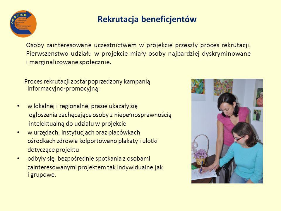 Rekrutacja beneficjentów
