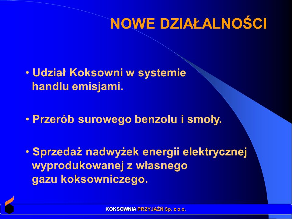 KOKSOWNIA PRZYJAŹŃ Sp. z o.o.