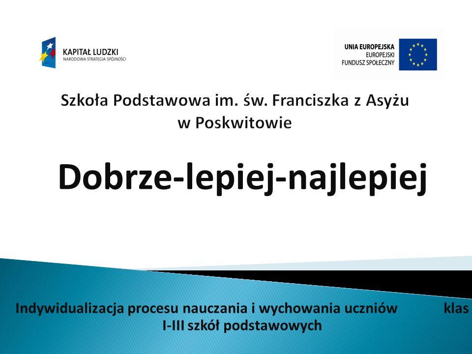 Szkoła Podstawowa im. św. Franciszka z Asyżu w Poskwitowie