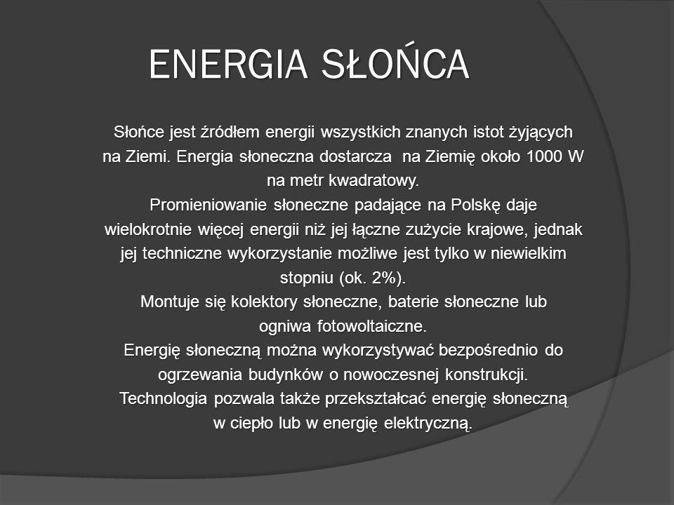 ENERGIA SŁOŃCA