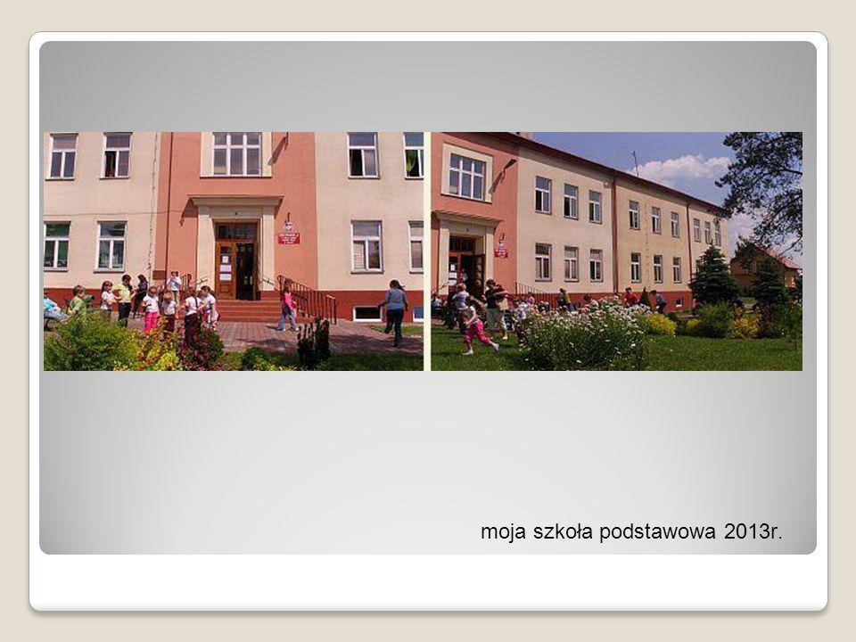 moja szkoła podstawowa 2013r.