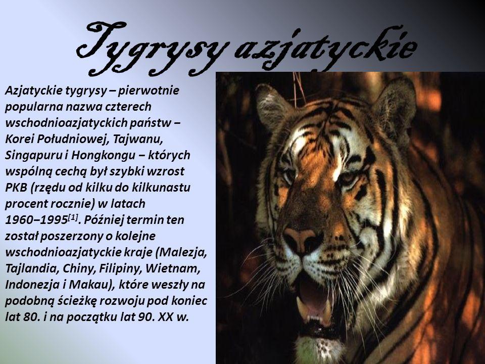 Tygrysy azjatyckie