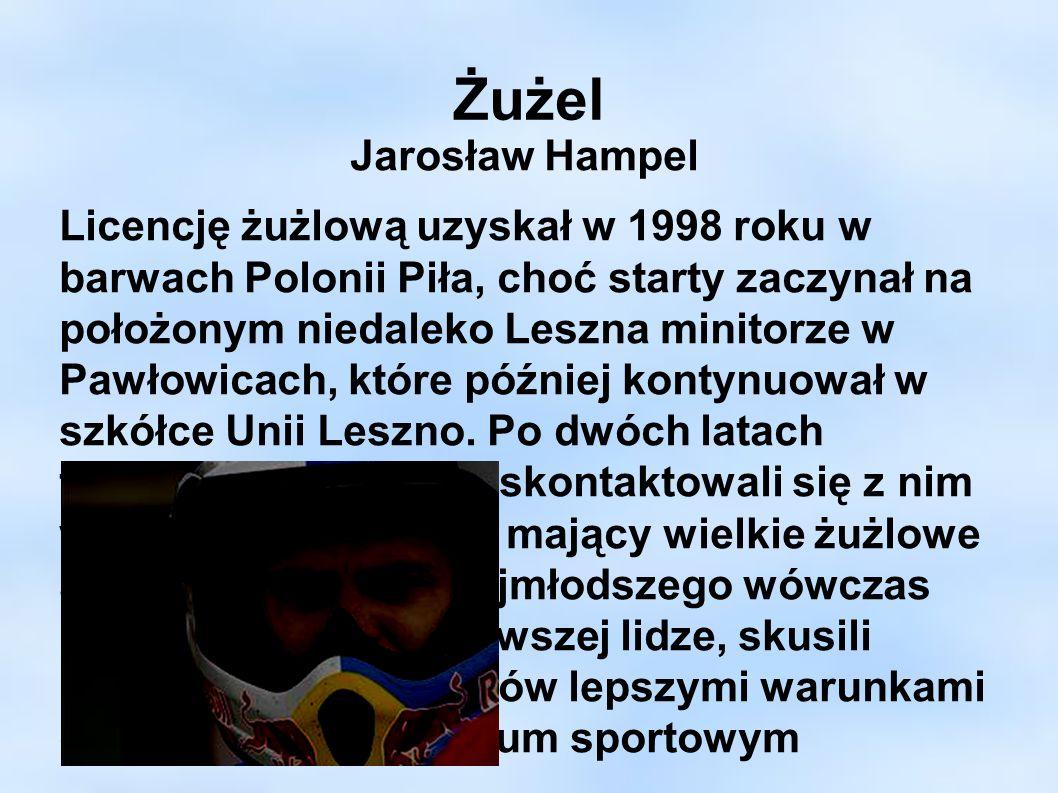Żużel Jarosław Hampel.