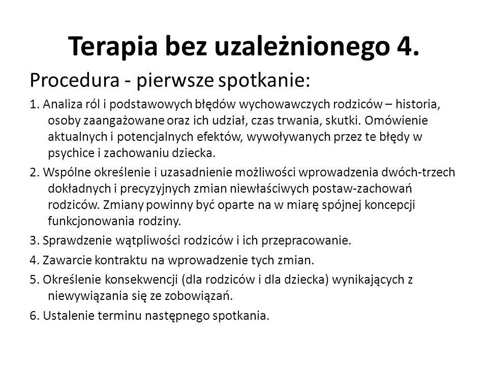 Terapia bez uzależnionego 4.