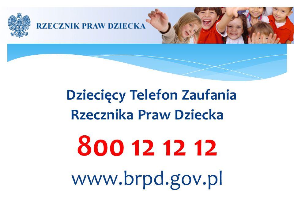 Dziecięcy Telefon Zaufania Rzecznika Praw Dziecka