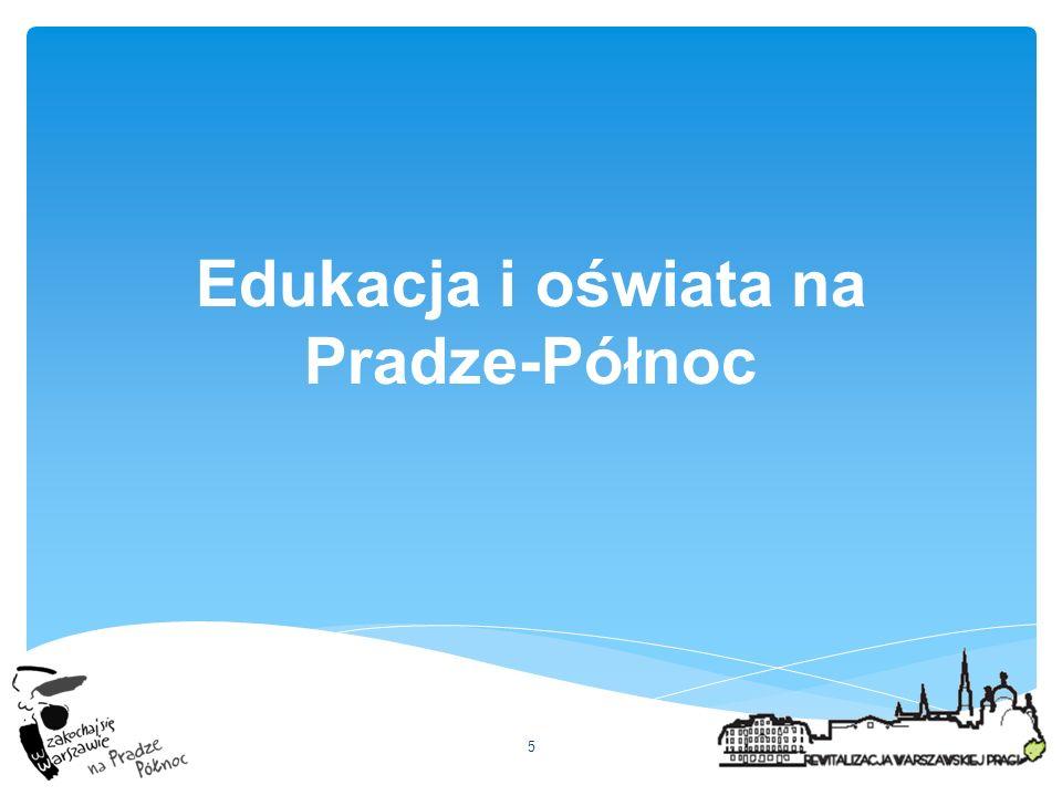 Edukacja i oświata na Pradze-Północ