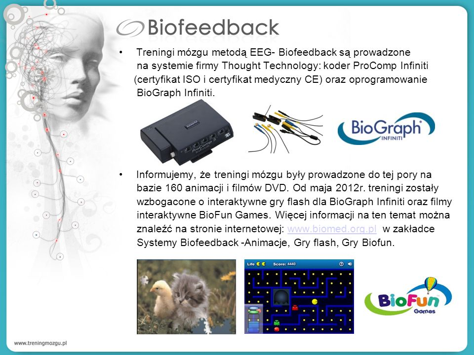 Treningi mózgu metodą EEG- Biofeedback są prowadzone