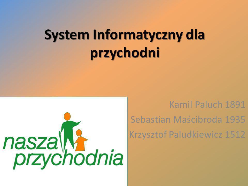 System Informatyczny dla przychodni