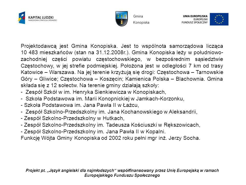 - Zespół Szkół w im. Henryka Sienkiewicza w Konopiskach,