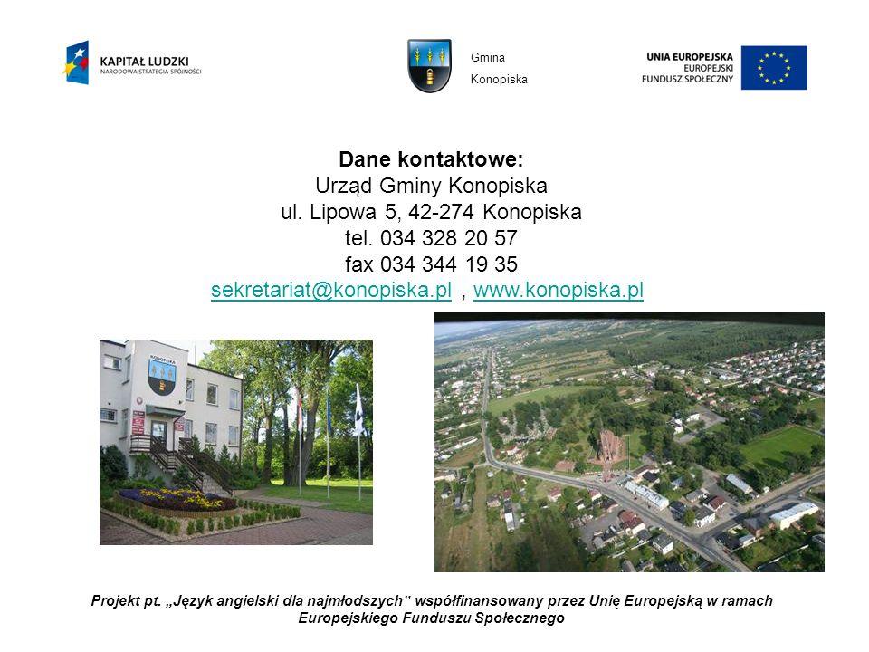 sekretariat@konopiska.pl , www.konopiska.pl