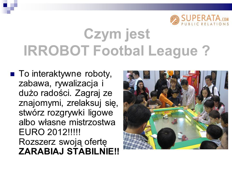 IRROBOT Footbal League