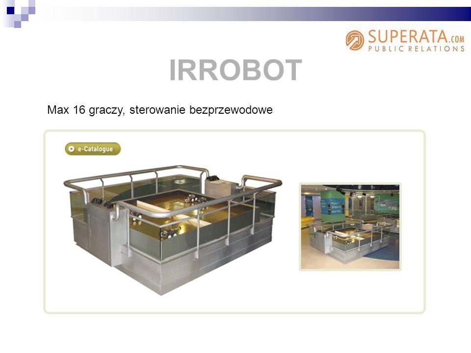 IRROBOT Max 16 graczy, sterowanie bezprzewodowe
