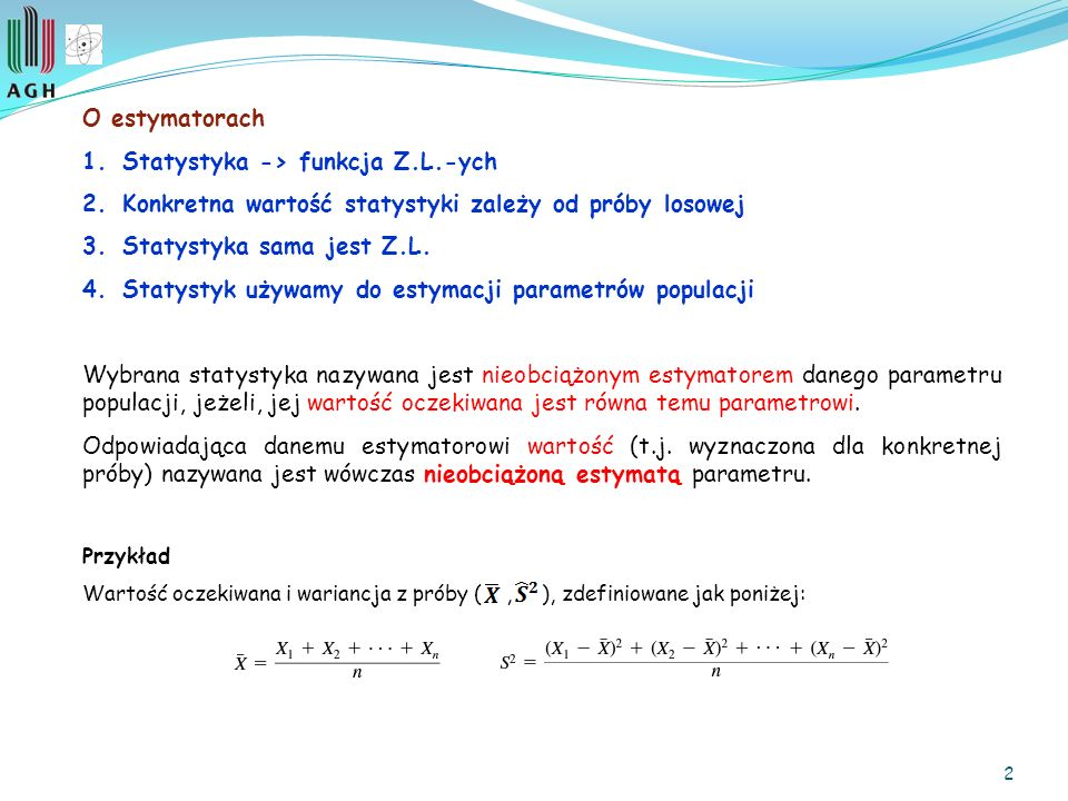 Statystyka -> funkcja Z.L.-ych