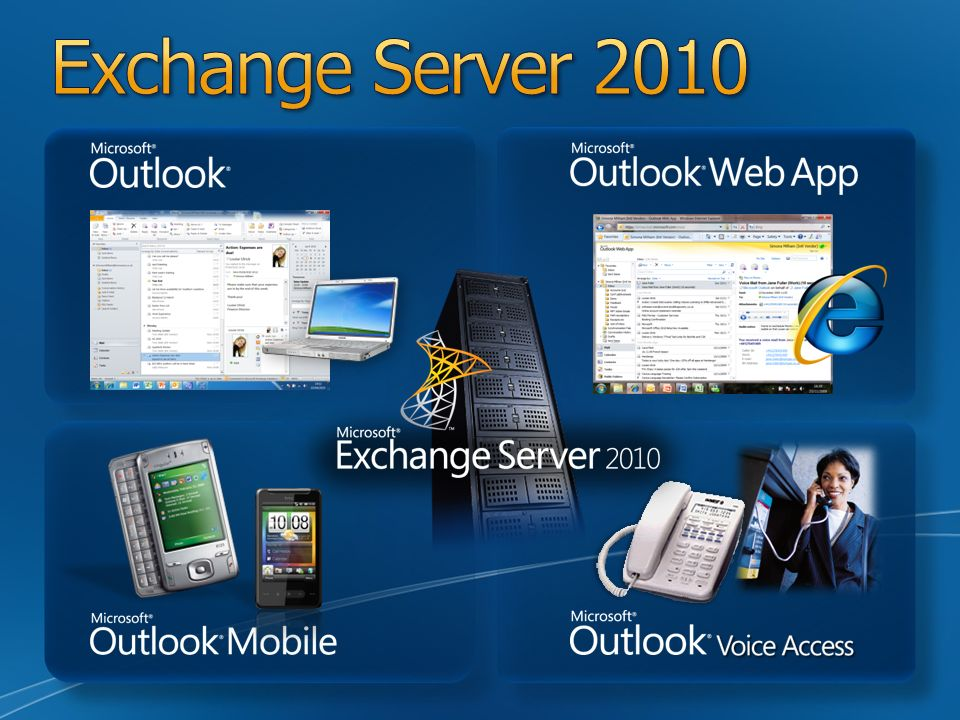Exchange Server 2010 Slide Overview: