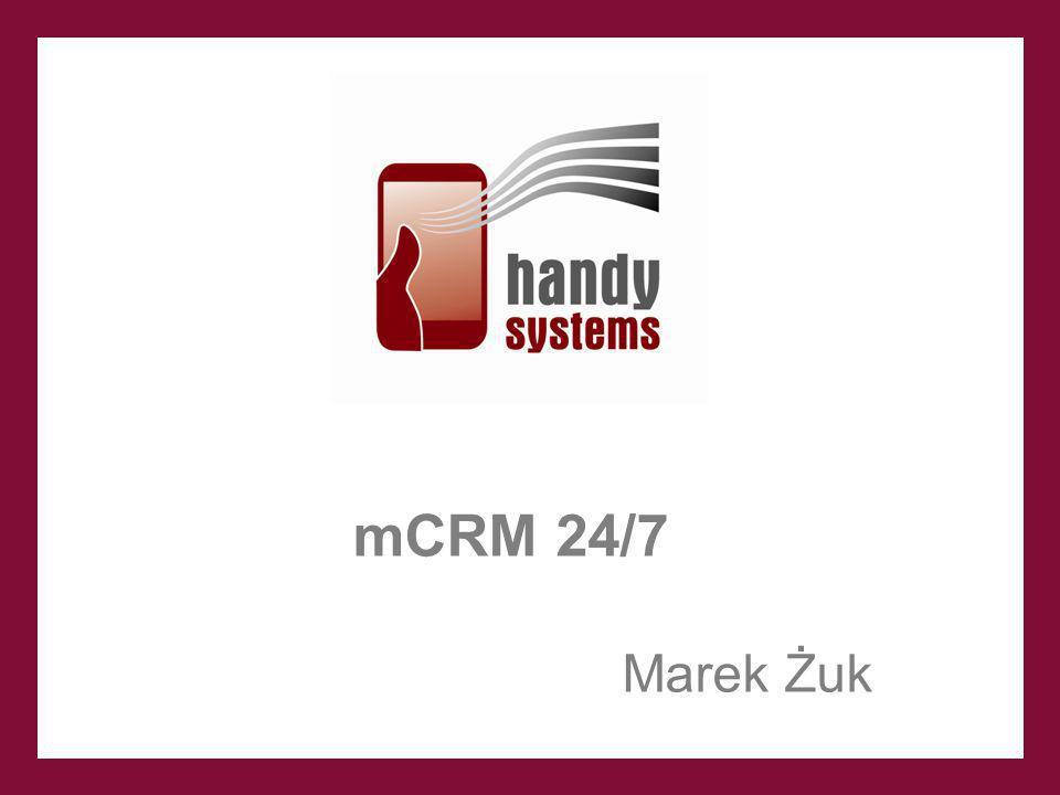 mCRM 24/7 Marek Żuk 1