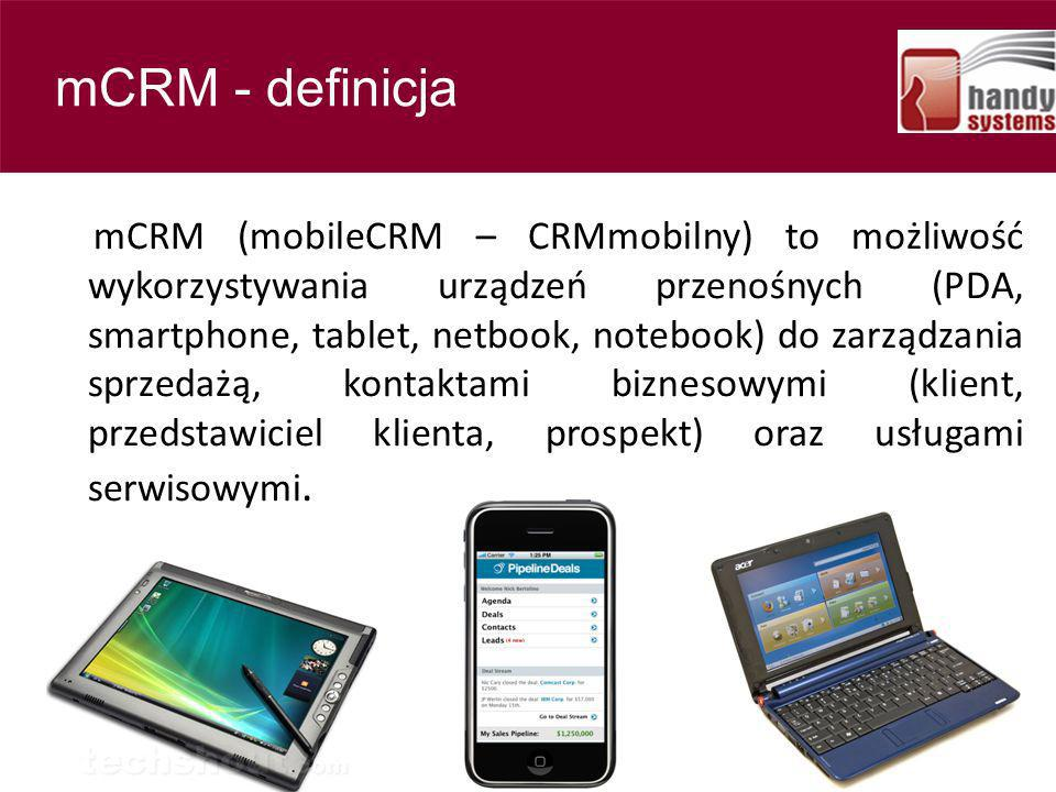 Contents mCRM - definicja