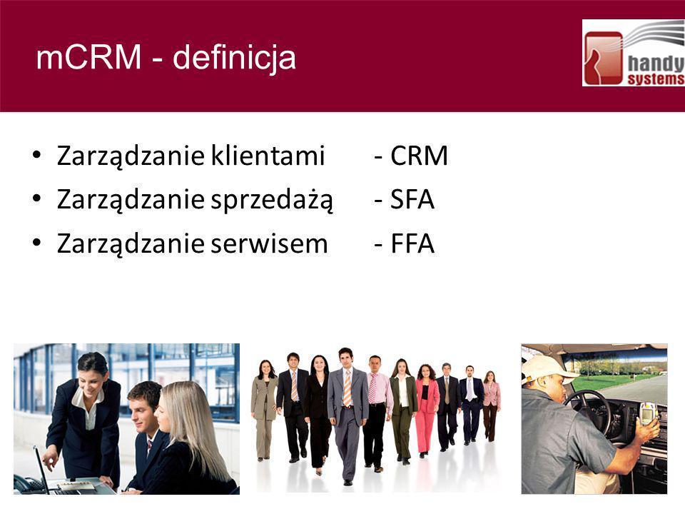 Contents mCRM - definicja Zarządzanie klientami - CRM