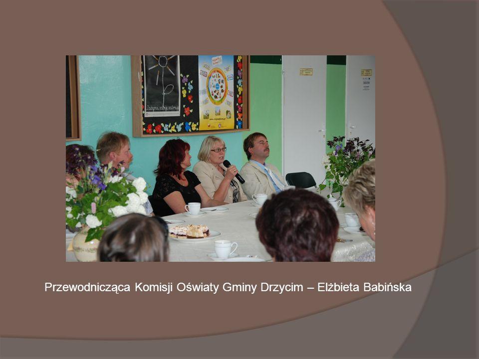 Przewodnicząca Komisji Oświaty Gminy Drzycim – Elżbieta Babińska