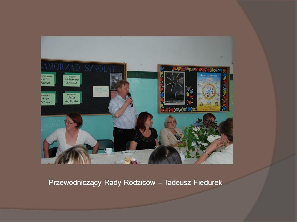 Przewodniczący Rady Rodziców – Tadeusz Fiedurek