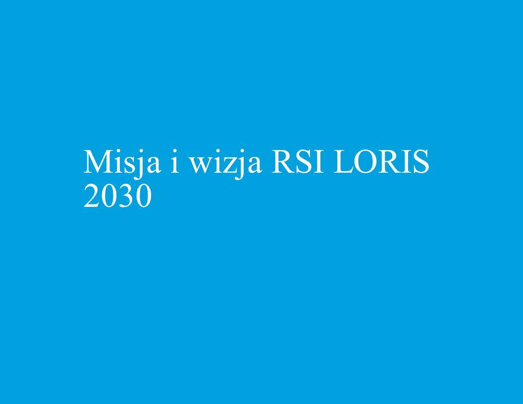 Misja i wizja RSI LORIS 2030