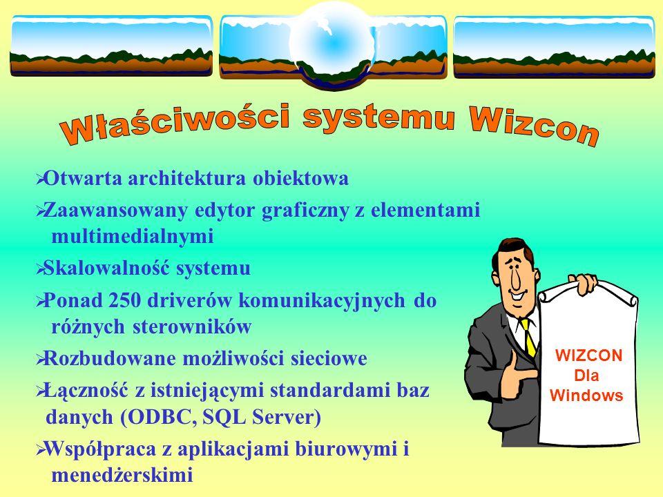 Właściwości systemu Wizcon
