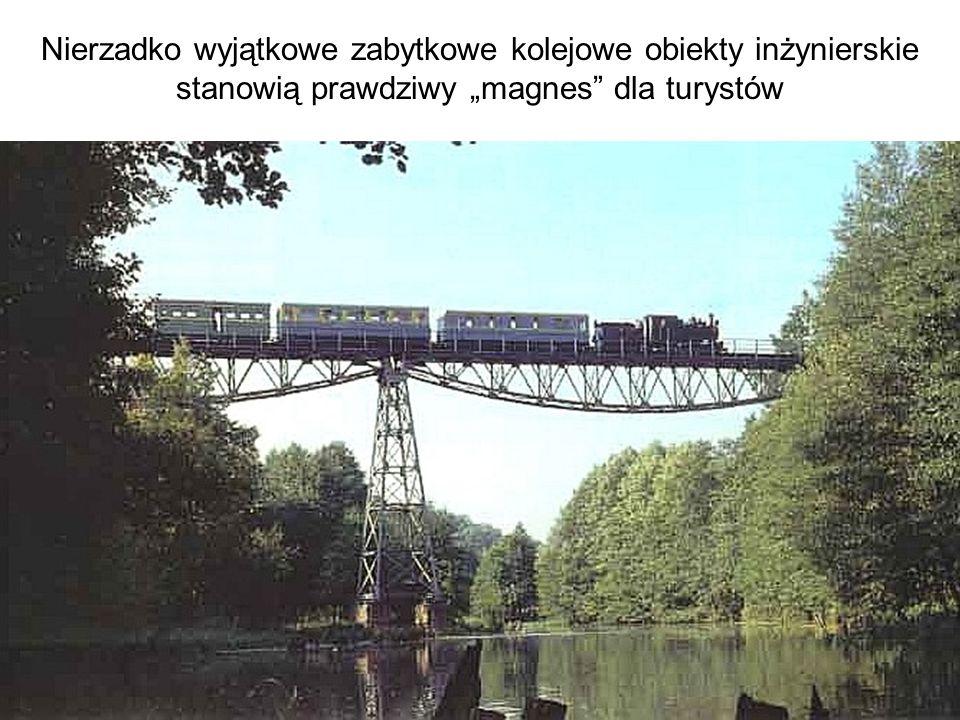"""Nierzadko wyjątkowe zabytkowe kolejowe obiekty inżynierskie stanowią prawdziwy """"magnes dla turystów"""