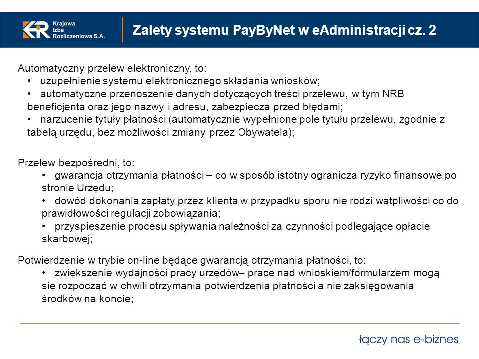 Zalety systemu PayByNet w eAdministracji cz. 2