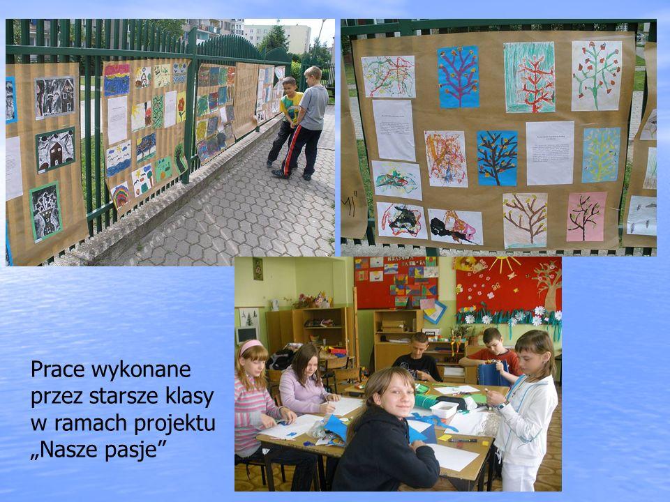 Prace wykonane przez starsze klasy