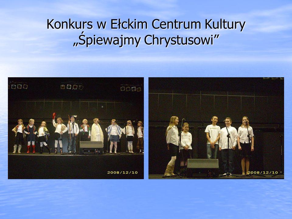 """Konkurs w Ełckim Centrum Kultury """"Śpiewajmy Chrystusowi"""