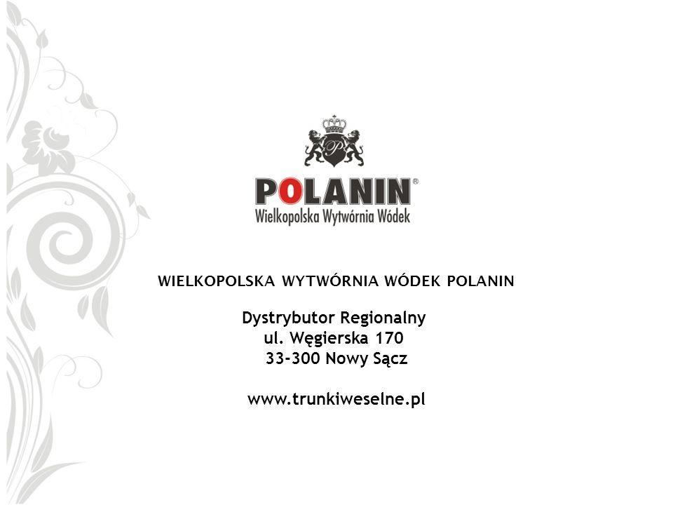 WIELKOPOLSKA WYTWÓRNIA WÓDEK POLANIN Dystrybutor Regionalny