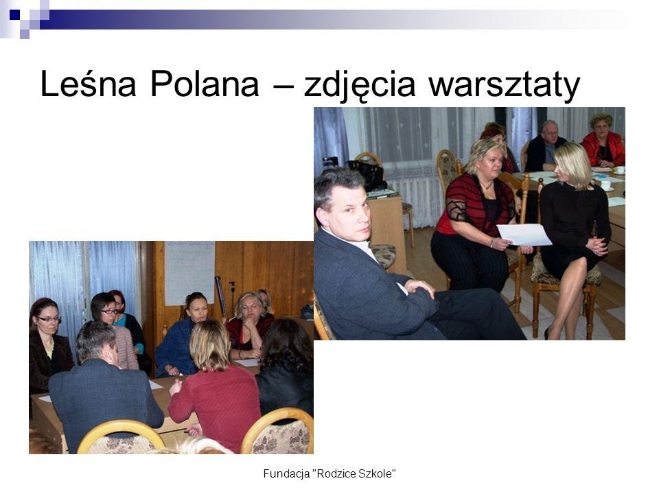 Leśna Polana – zdjęcia warsztaty