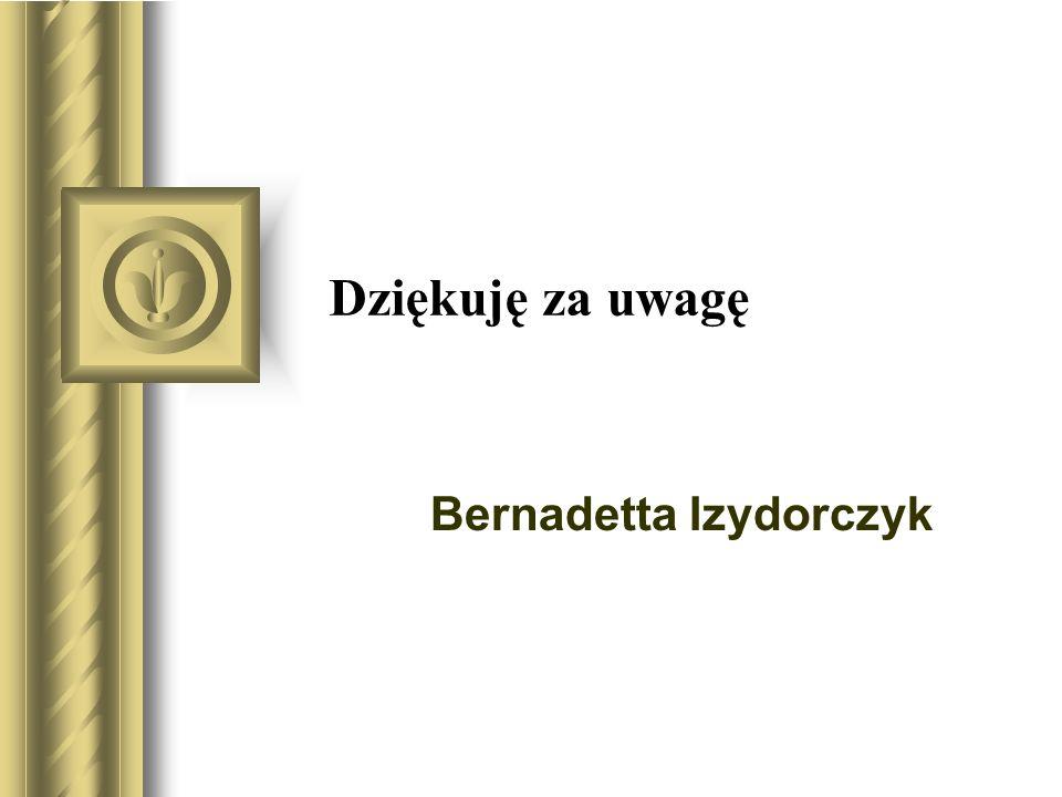 Bernadetta Izydorczyk
