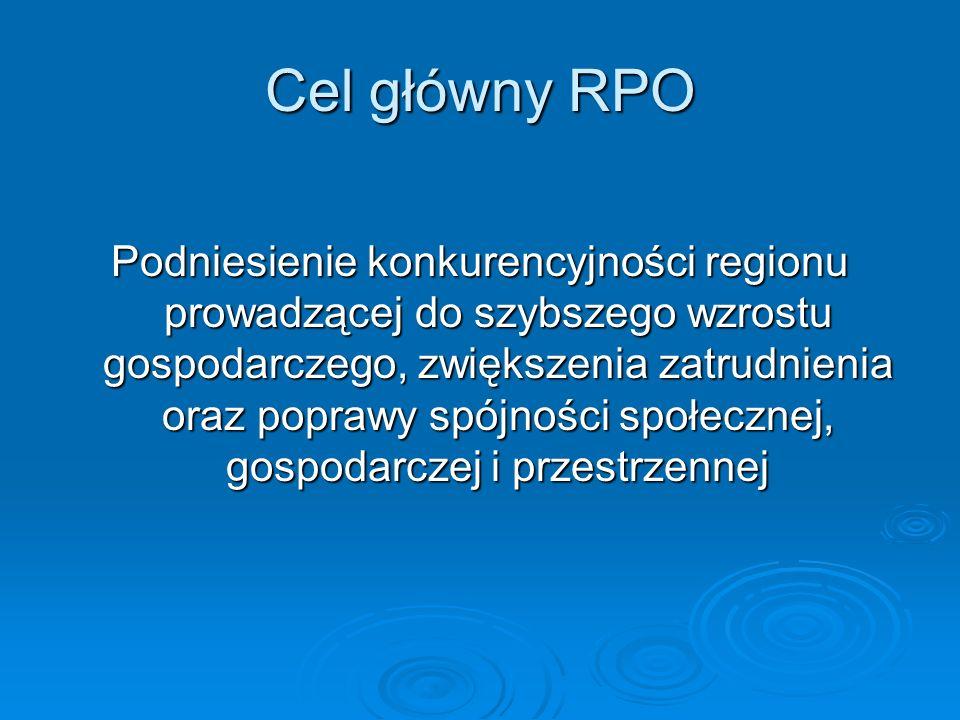 Cel główny RPO